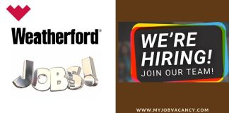 Weatherford Job Vacancies