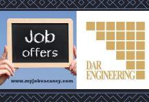 DAR Engineering Job Vacancies