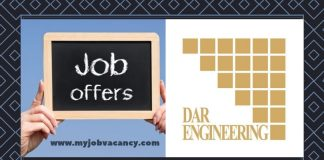 DAR Engineering Job Vacancies
