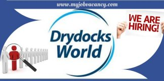 Drydocks World Latest Jobs