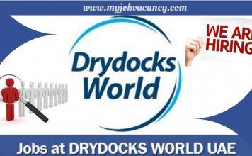 Drydocks World Latest Jobs