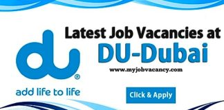 DU Telecommunications Jobs