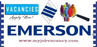 Emerson Latest Job Opportunities