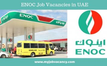 ENOC Latest Job Opportunities