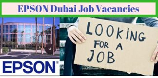 EPSON Dubai Job Openings