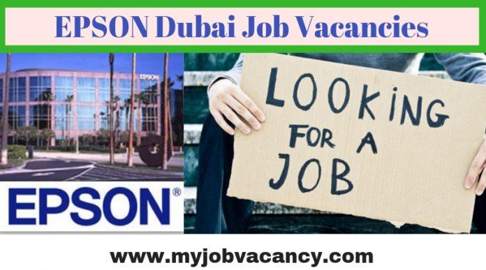 EPSON Dubai Job Openings
