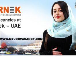 Farnek Dubai Job Openings