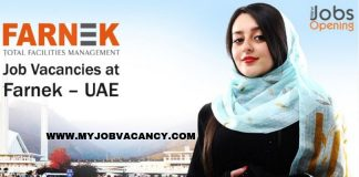 Farnek Dubai Job Openings