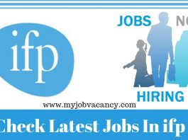 Ifp Latest Job Openings