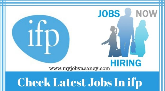 Ifp Latest Job Openings