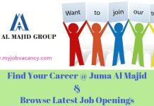 Juma Al Majid Jobs