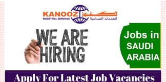 Kanooz Saudi Job Vacancies