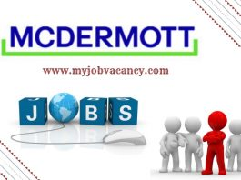 McDermott Latest Job Vacancies