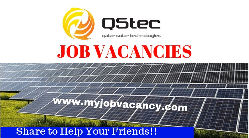 Qstec Qatar Job Vacancies - Get latest Qstec Qatar Jobs here!