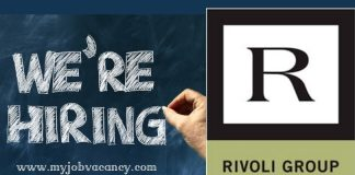 Rivoli Group Latest Jobs