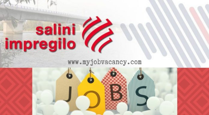 Salini Impregilo Latest Jobs