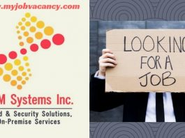VAM Systems Latest Jobs